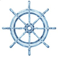 Sea Life Wheel no Border Fine Art Print