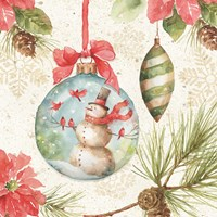Woodland Holiday IV Fine Art Print