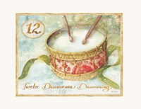 12 Days of Christmas XII Fine Art Print