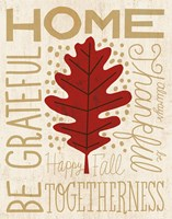 Family Tree Leaf II Fine Art Print