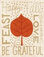Family Tree Leaf III Fine Art Print