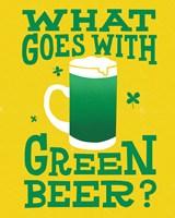 Green Beer Cake I Fine Art Print