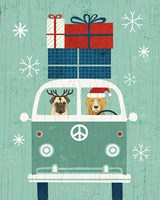 Holiday on Wheels XII Fine Art Print
