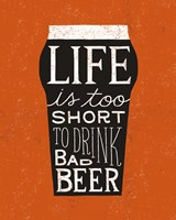 Craft Beer I Fine Art Print