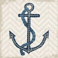 Nautical Anchor Fine Art Print