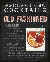 Classic Cocktail Old Fashioned Fine Art Print