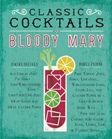 Classic Cocktail Bloody Mary Fine Art Print