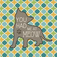 Cat Sayin II Fine Art Print