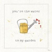 Garden Notes I Fine Art Print