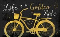 Golden Ride III Dark Fine Art Print