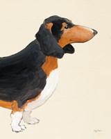 My Best Friend Dachshund III Fine Art Print