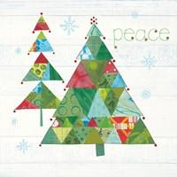 Christmas Patchwork IV Fine Art Print