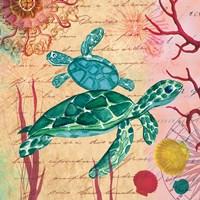 Tropical Underwater IV Fine Art Print