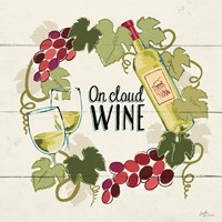 Wine and Friends VIII Fine Art Print