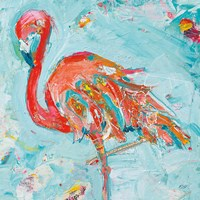 Flamingo Bright Fine Art Print