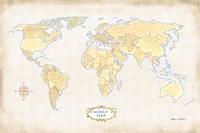 World Trekker I Fine Art Print