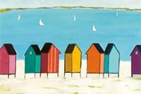 Cabanas I Fine Art Print