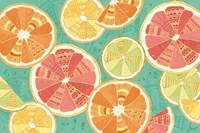 Citrus Splash XI Fine Art Print