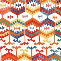 Southwest Pattern I Bright Fine Art Print