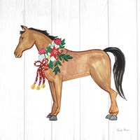 Holiday Farm Animals II Fine Art Print