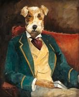 Edgar Allen Paw Fine Art Print
