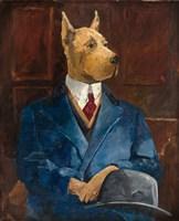 Inspector Dogleash Fine Art Print