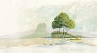 Lake Front II Fine Art Print