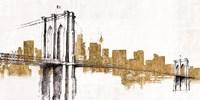 Skyline Crossing Gold Fine Art Print