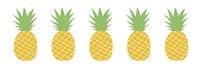 Pineapple Row Fine Art Print