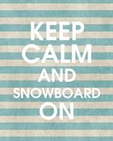 Snowboard On Part II Fine Art Print