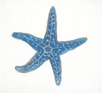 Navy Starfish Fine Art Print