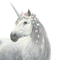 Spirit Unicorn II Square Fine Art Print