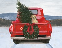 Christmas in the Heartland IV Ford Fine Art Print