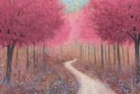 Forest Pathway Spring Fine Art Print