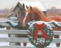 Christmas in the Heartland II Fine Art Print
