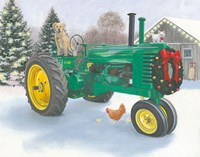 Christmas in the Heartland III Fine Art Print