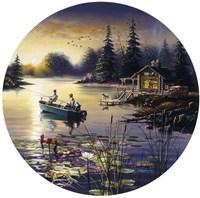 Fishermen Boat Fine Art Print