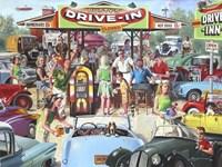 Rusty's Drive-In Fine Art Print