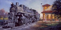 Train Station Fine Art Print