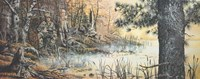 Hunter's Blind Fine Art Print