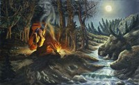 Illusions of Forest Fine Art Print