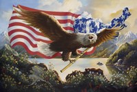 Eagle USA Fine Art Print