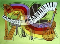 Maze Music Fine Art Print