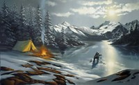 Ice Fishing Fine Art Print