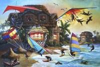Banana Cabana Fine Art Print