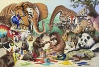 Monkeyangelo Fine Art Print