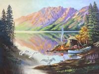 Trumpeter Swans Fine Art Print