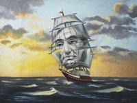 Lincoln Illusion Fine Art Print