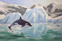 Orca Whale Fine Art Print