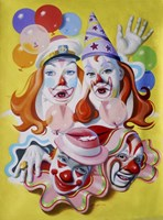 Clowns Fine Art Print